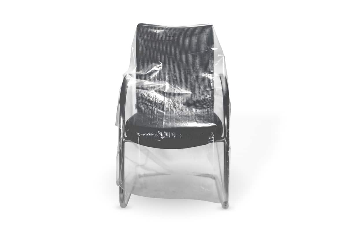 Plastic meubelhoezen - 110 x 110cm x 20my (200 st)