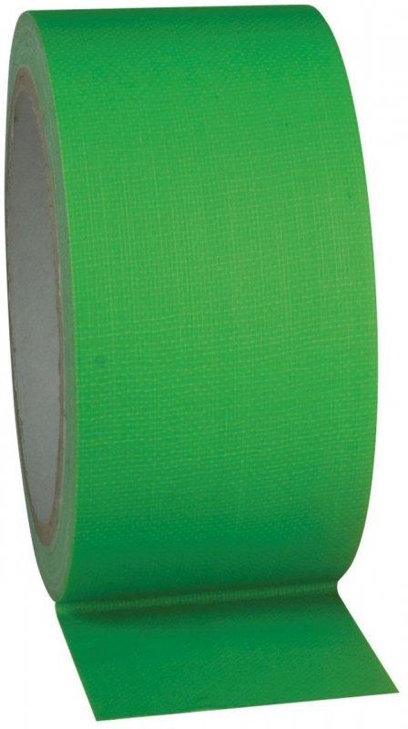 Fluor Gaffa tape groen - 50mm x 25m
