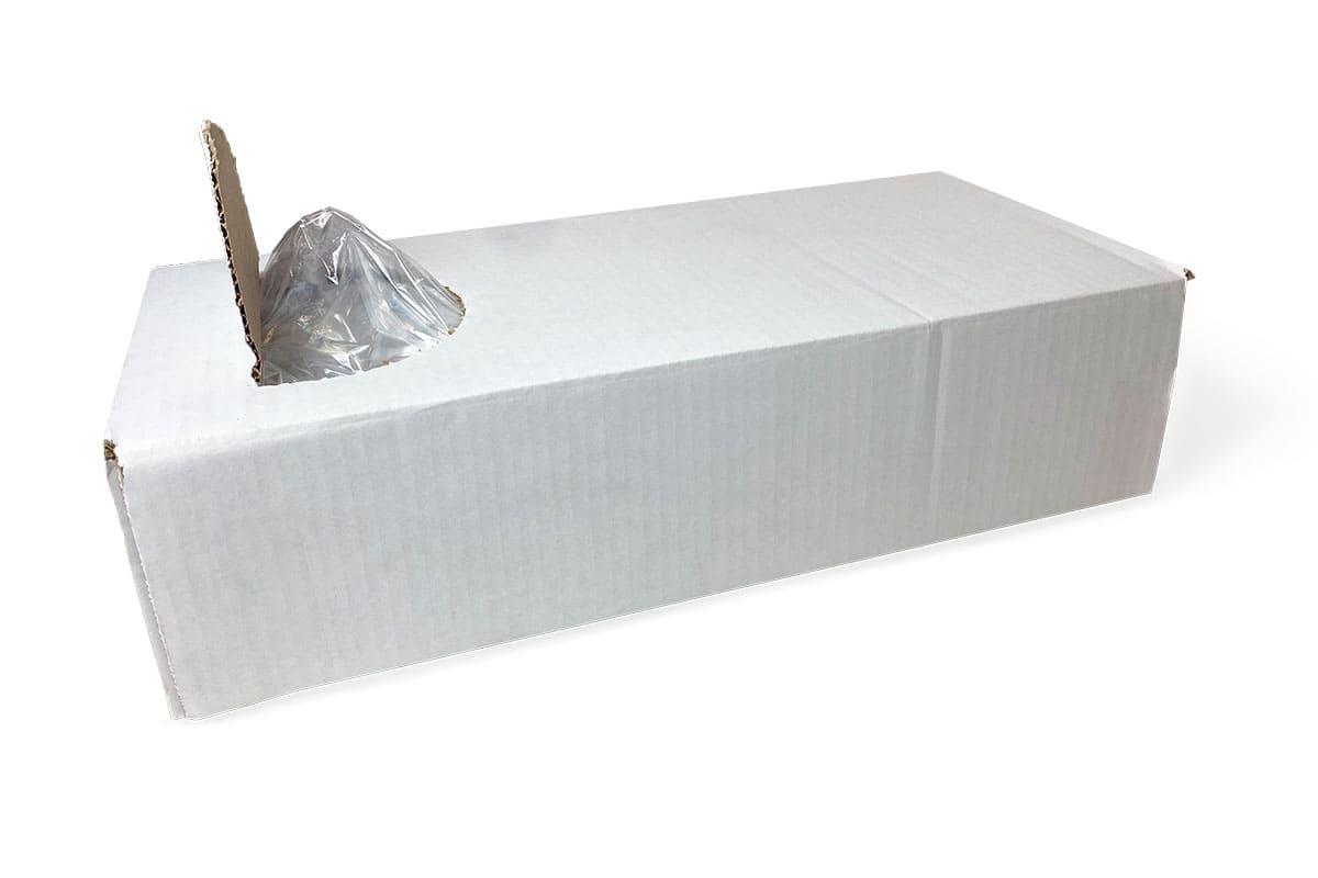 LDPE zijvouwzakken - 10 x 4,0 x 27cm x 50my (1.000 st)