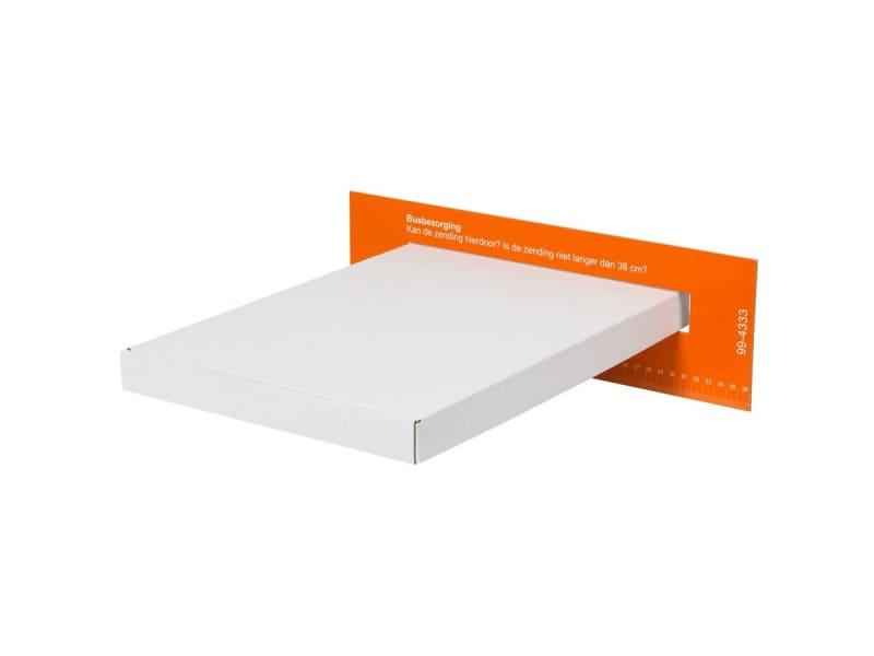 A4 brievenbusdozen A4 wit - 350 x 230 x 27mm (25 st)