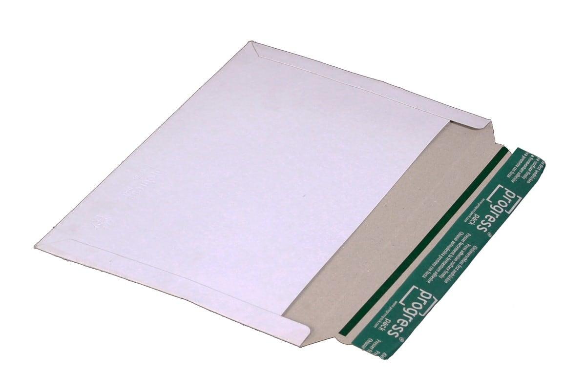 Kartonnen enveloppen wit - 225 x 160mm (100 st)