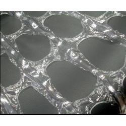 Handrollen gatenfolie - 48cm x 300m x 17my (8 st)