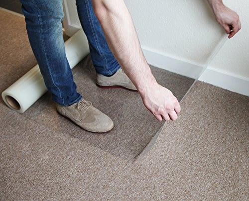 Afdekfolie zelfklevend zachte vloer - 60cm