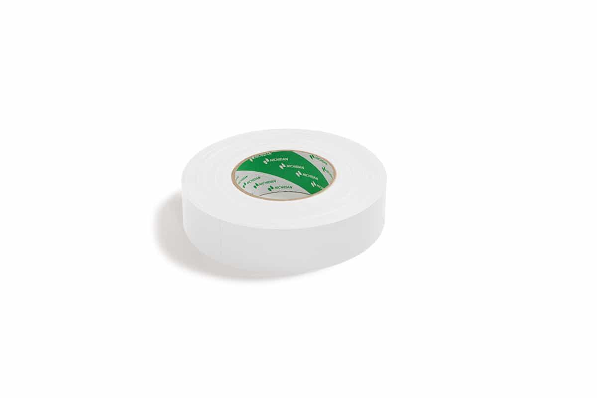 Nichiban® 1200 gaffa tape wit - 25mm x 50m