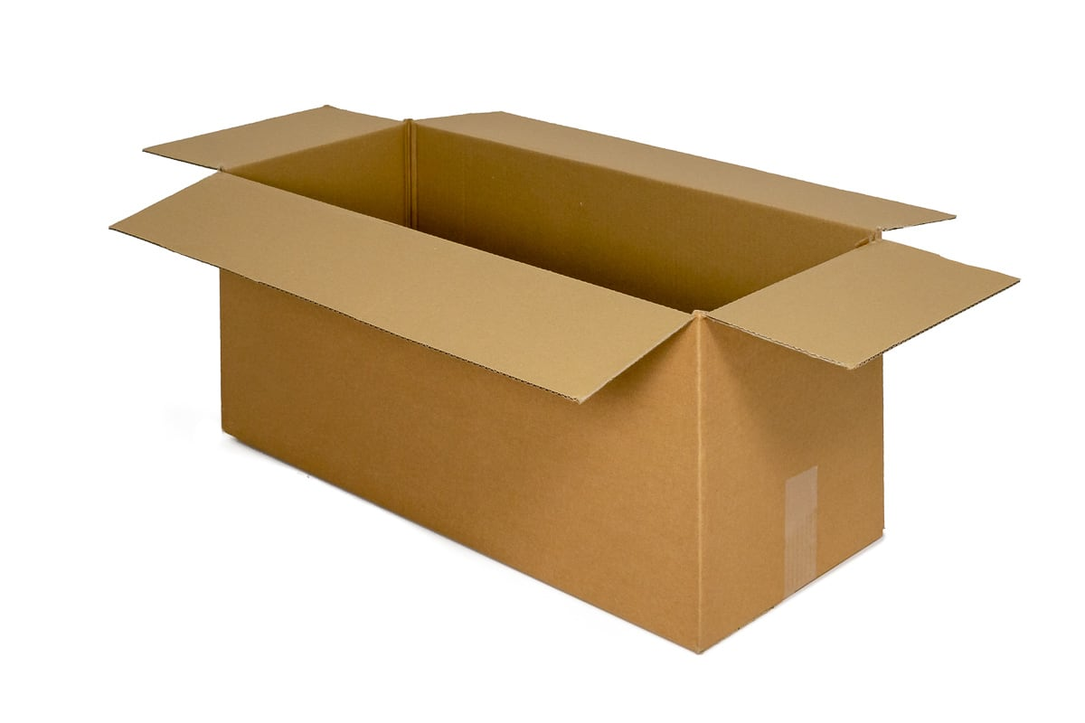 Kartonnen dozen - 650 x 320 x 320mm - enkele golf