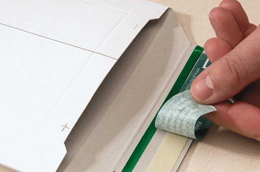 Massief kartonnen enveloppen wit A3 - 309 x 447 x 0-30mm (100st)