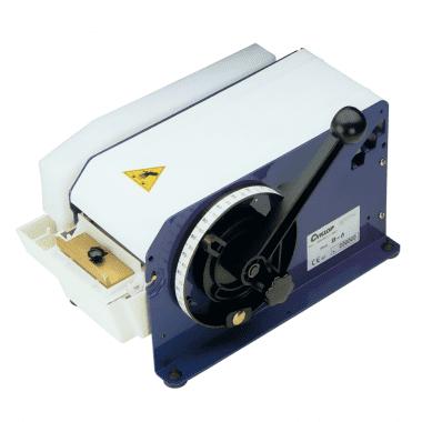 Tape dispenser B6 voor gegomde papieren tape