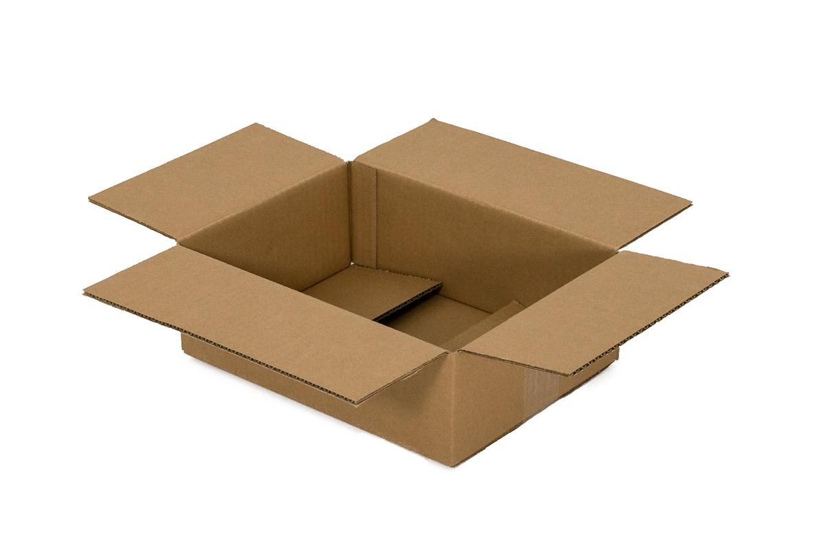 Kartonnen doos - 305 x 220 x 60mm (enkele golf)