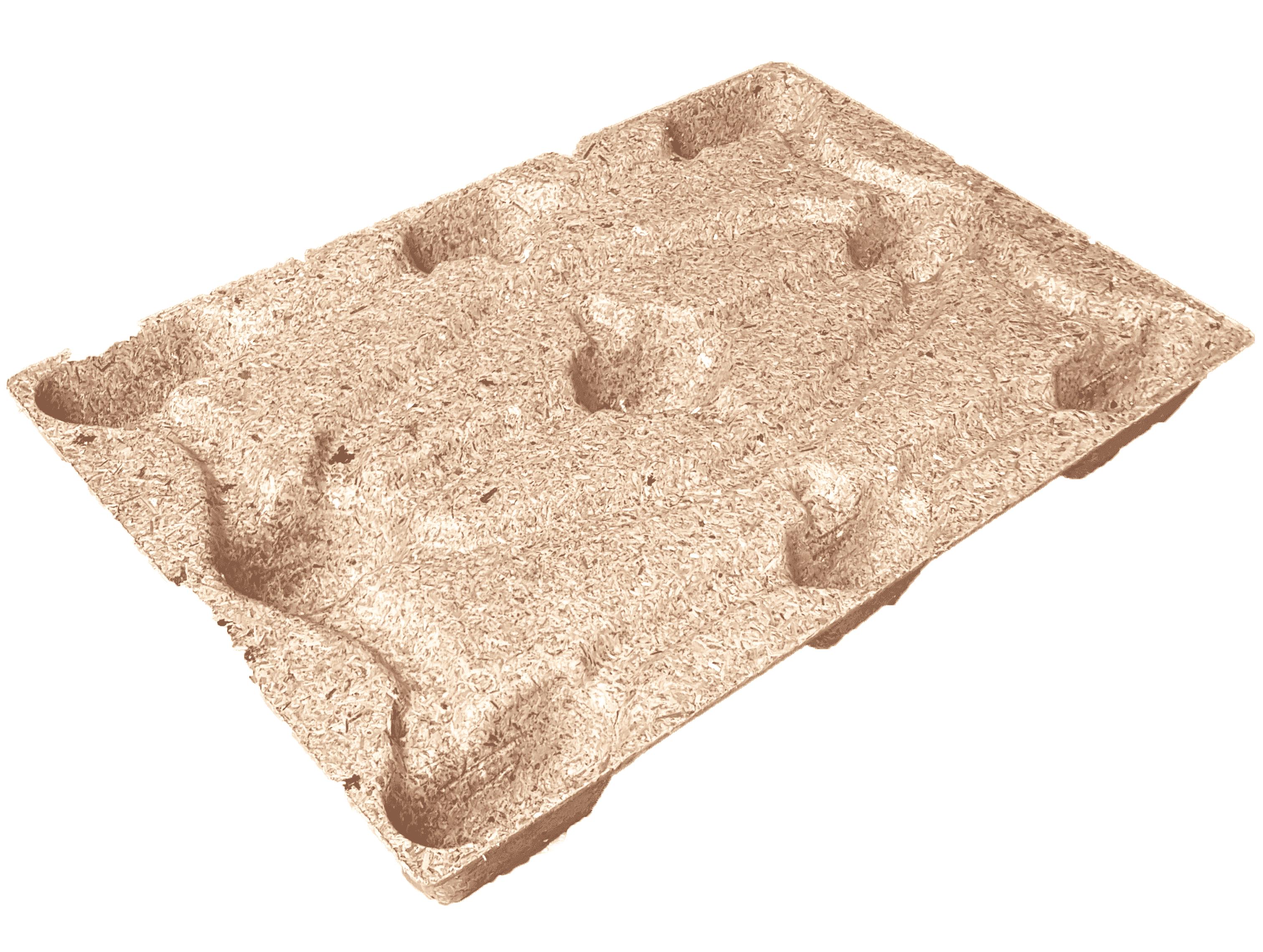 Houtvezel pallets - 800 x 1200mm (5 st)