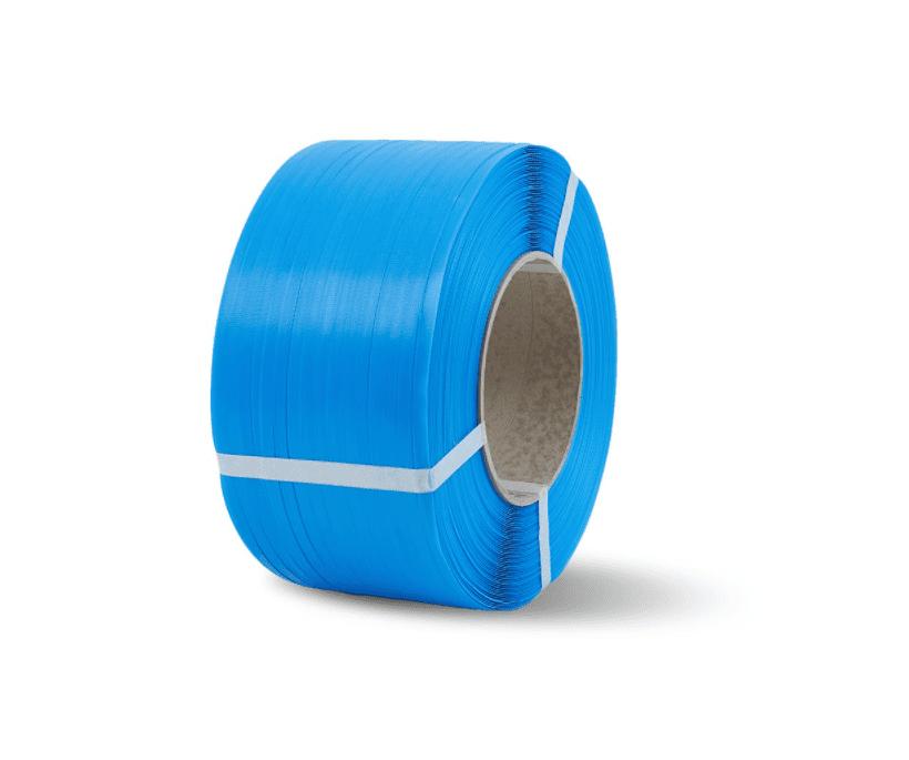 PP omsnoeringsband blauw - 12mm x 2.500m x 0,55mm