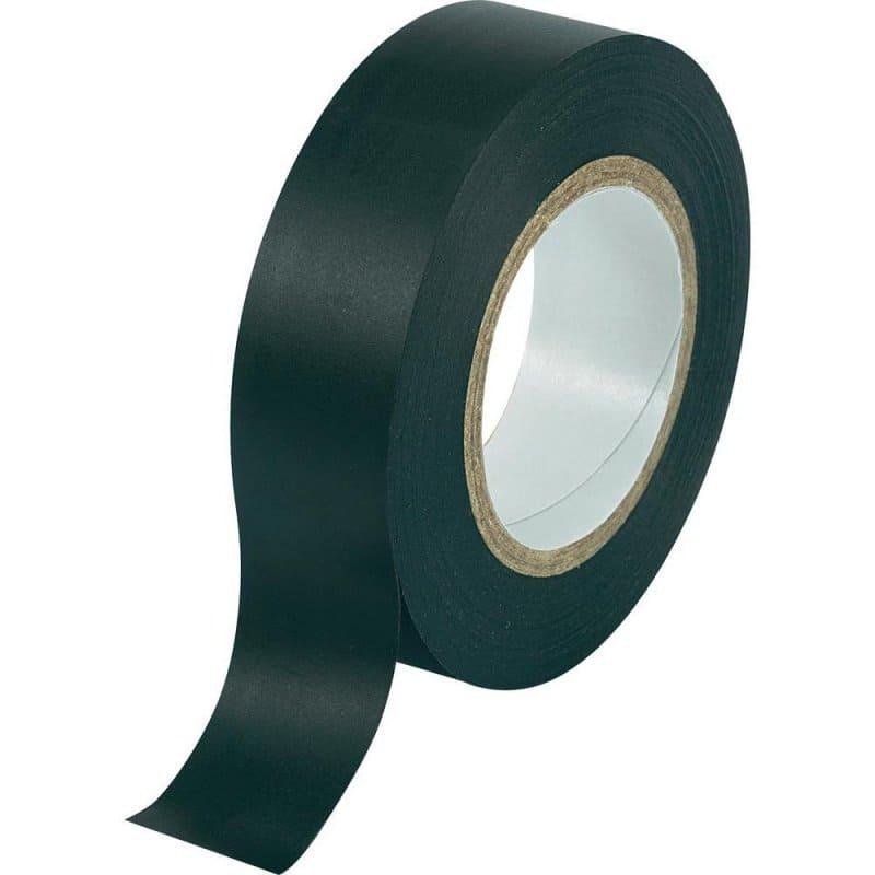 Isolatietape zwart - 25mm x 20m