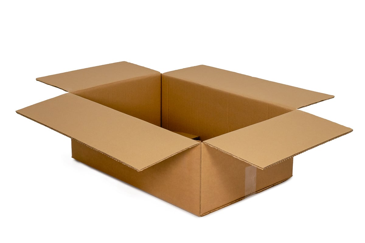 Kartonnen doos - 594 x 194 x 150mm (enkele golf)