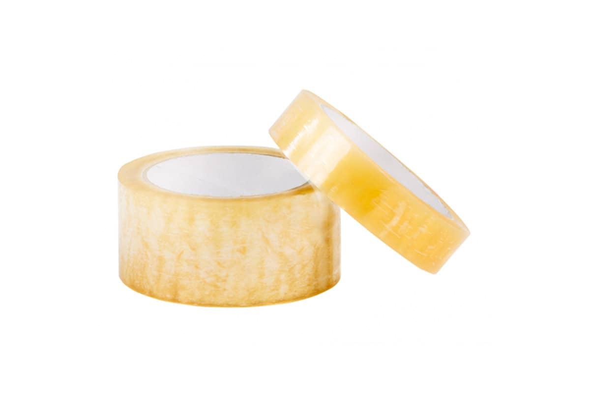 Antistatische ESD tape transparant - 12mm x 66m (24 st)