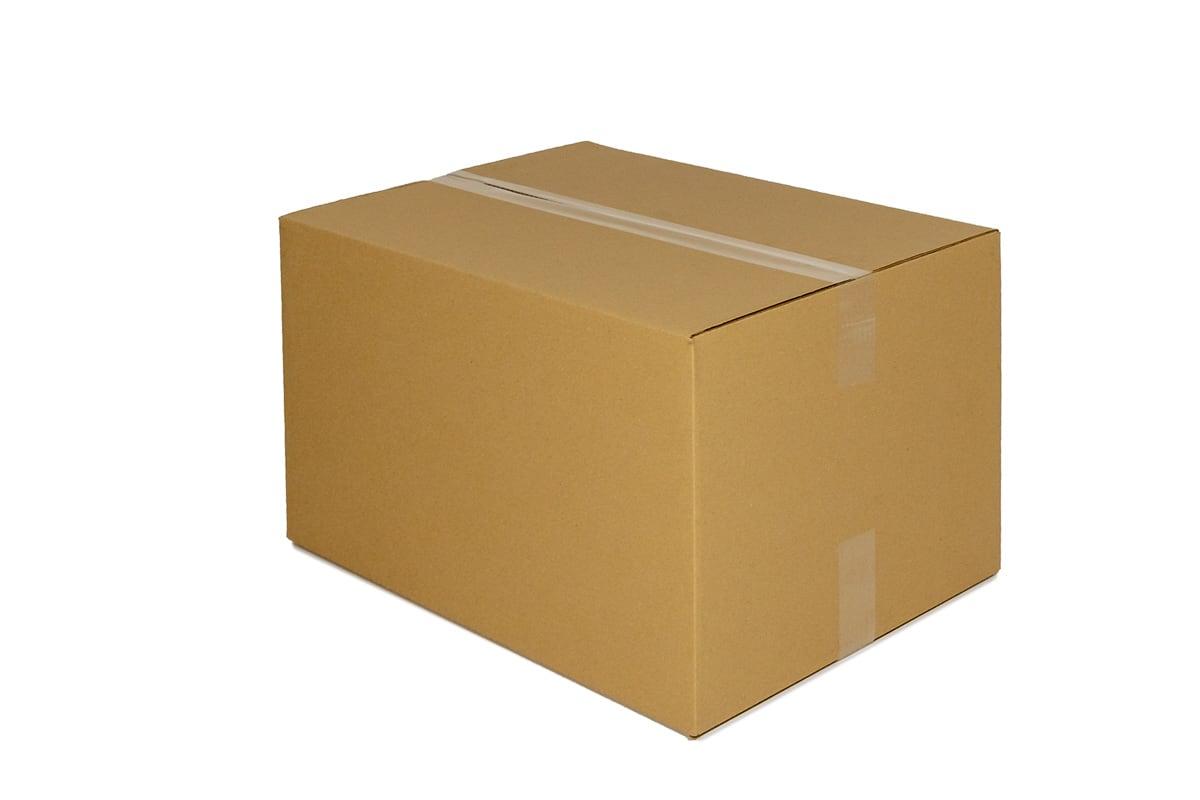 Kartonnen doos - 400 x 250 x 250mm (enkele golf)